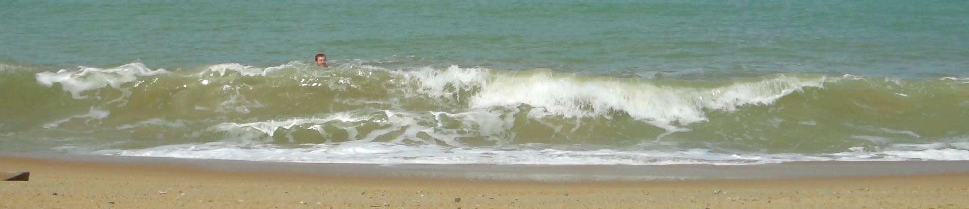 Strand bei Seaside Lodge