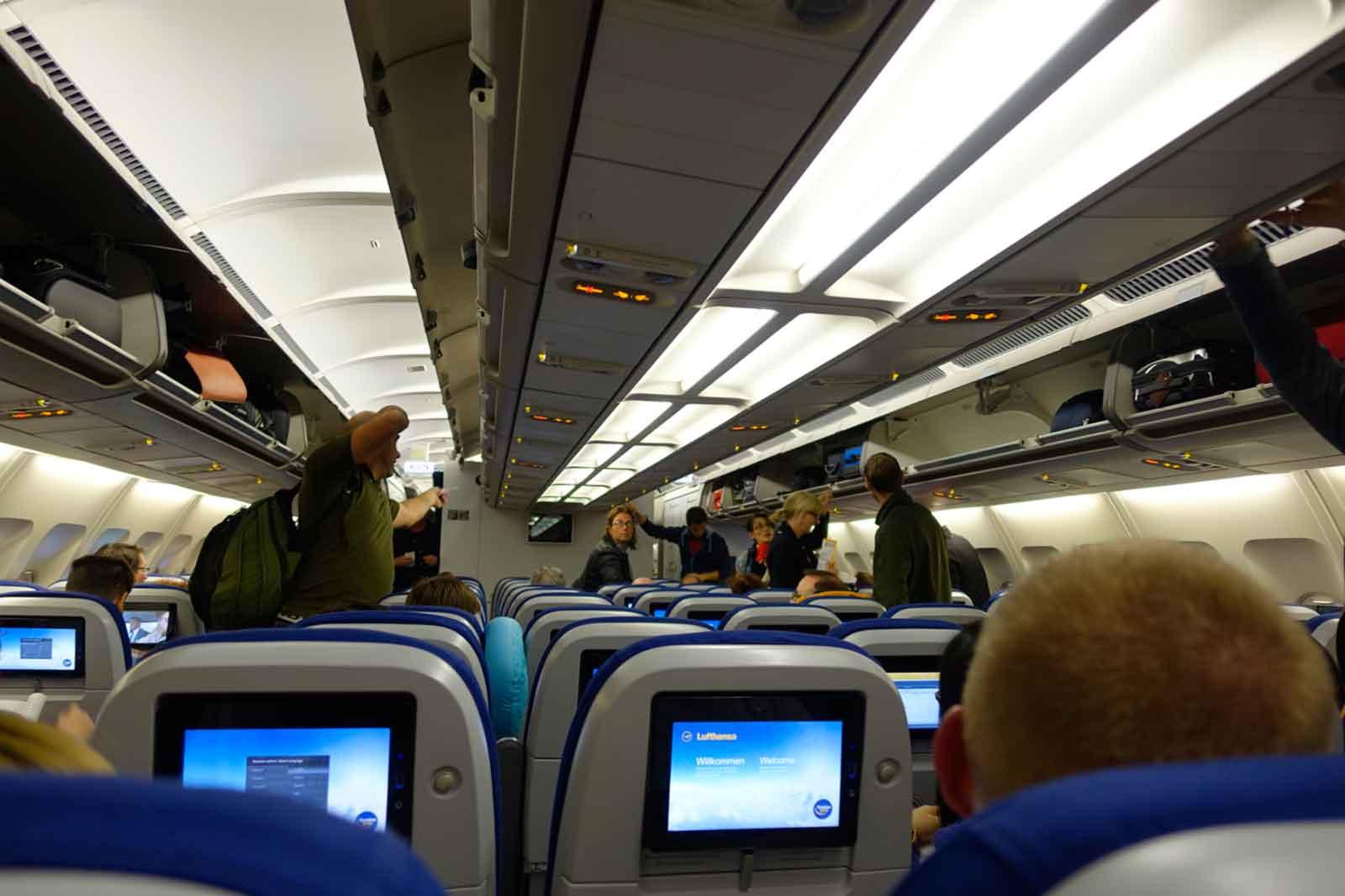 Airbus nach KL