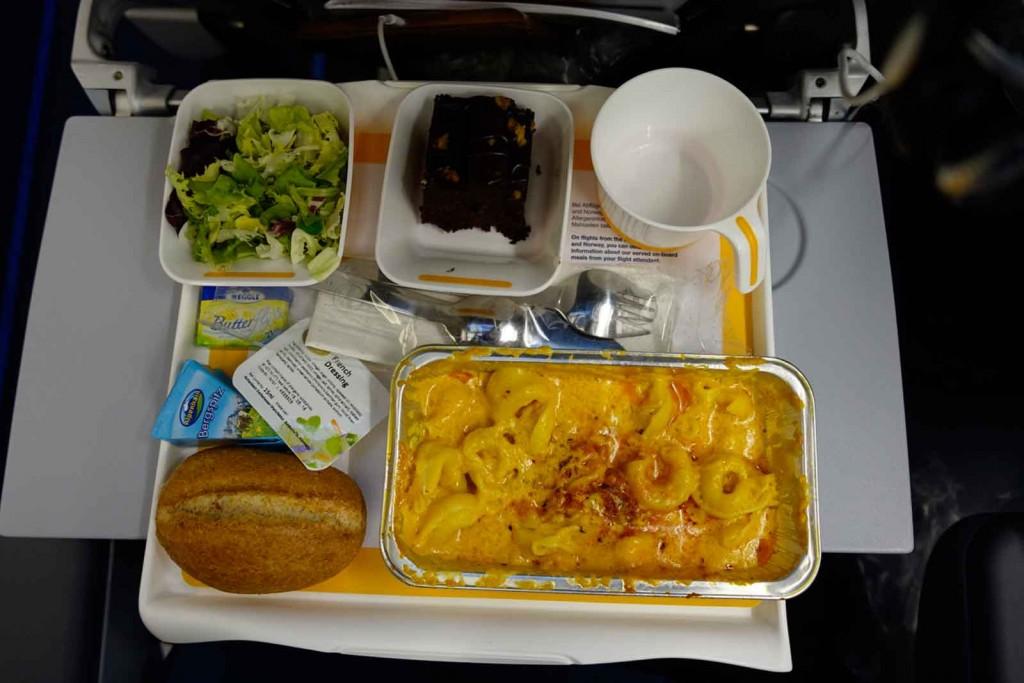 Abendmahl bei Lufthansa