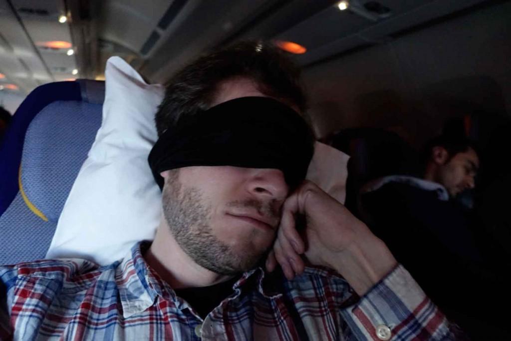 Nacht bei Lufthansa