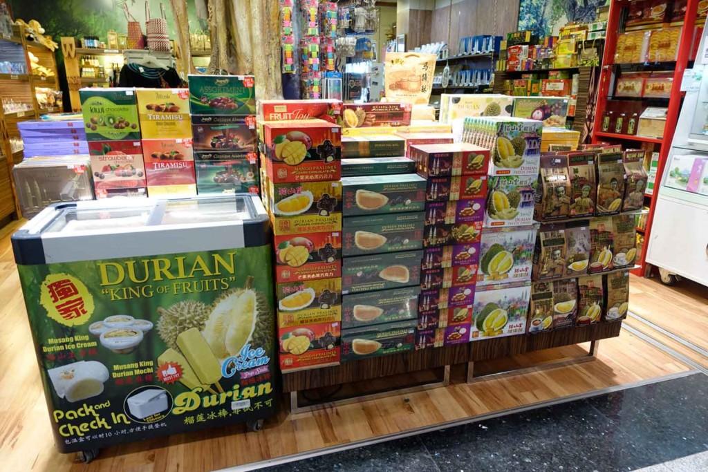 Vorboten der Durian