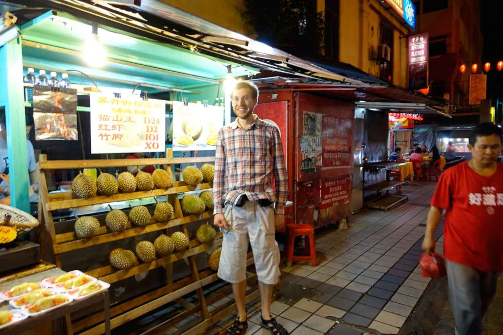 Durian-Stand Petaling Street