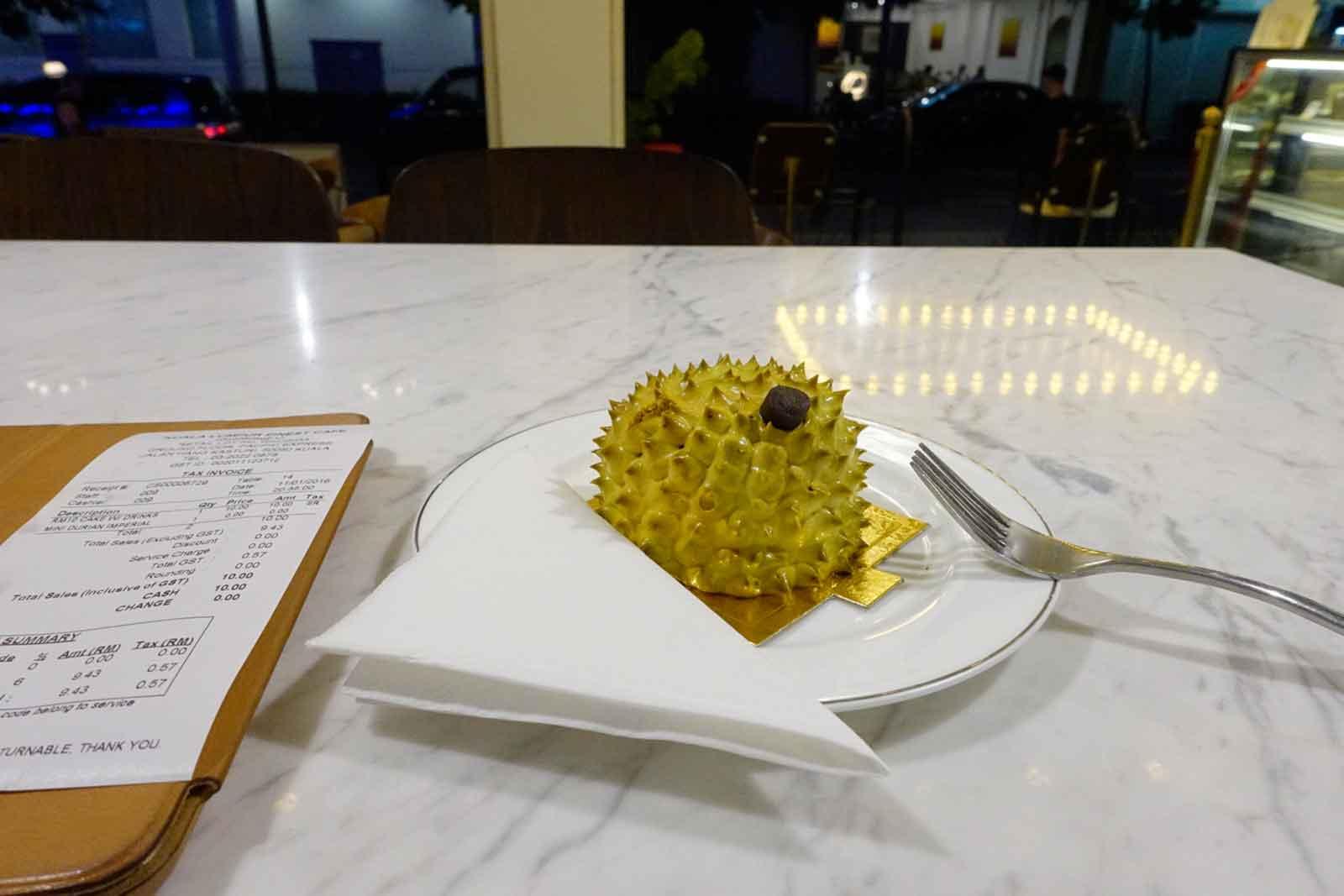 Durian-Törtchen