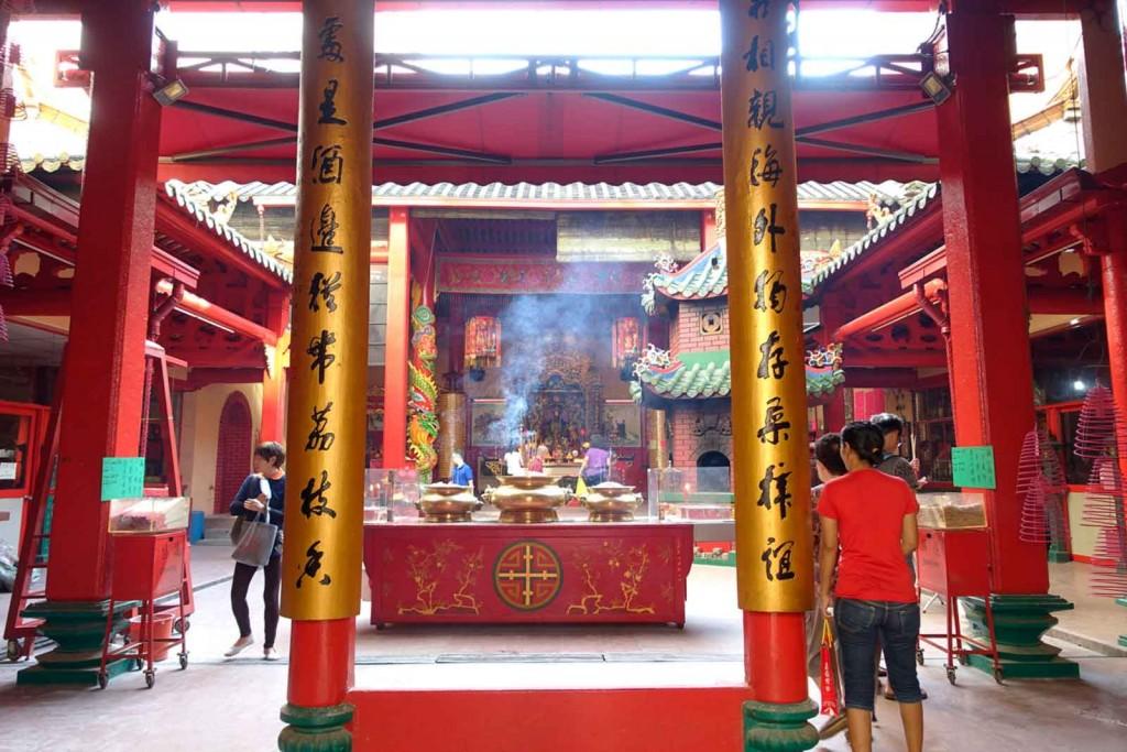 Chinesischer Tempel innen