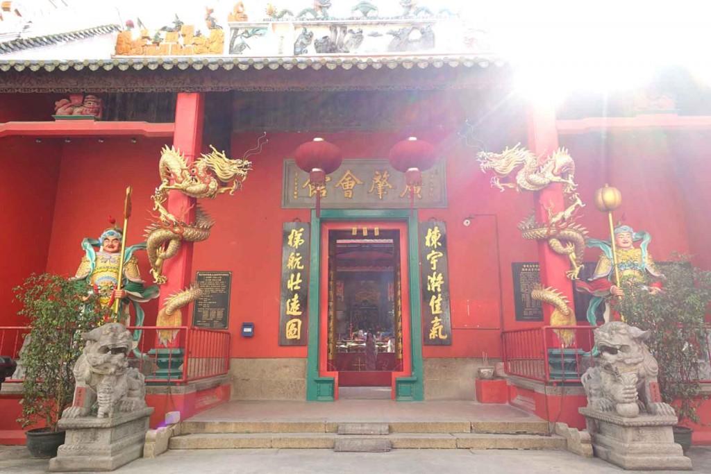 Chinesischer Tempel–Eingang