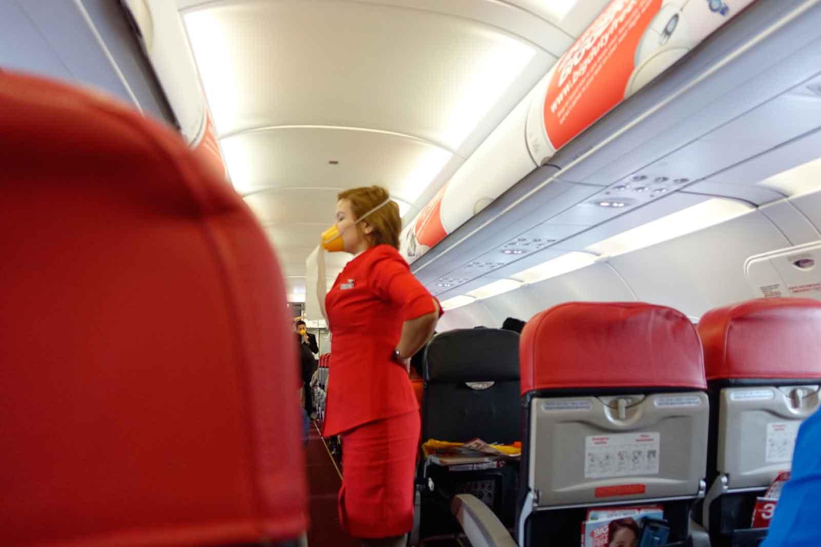 Tanz der Stewardess