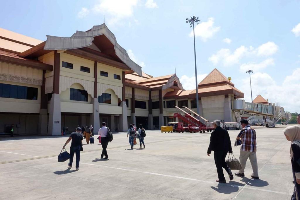 Landebahn in Kuala Terengganu