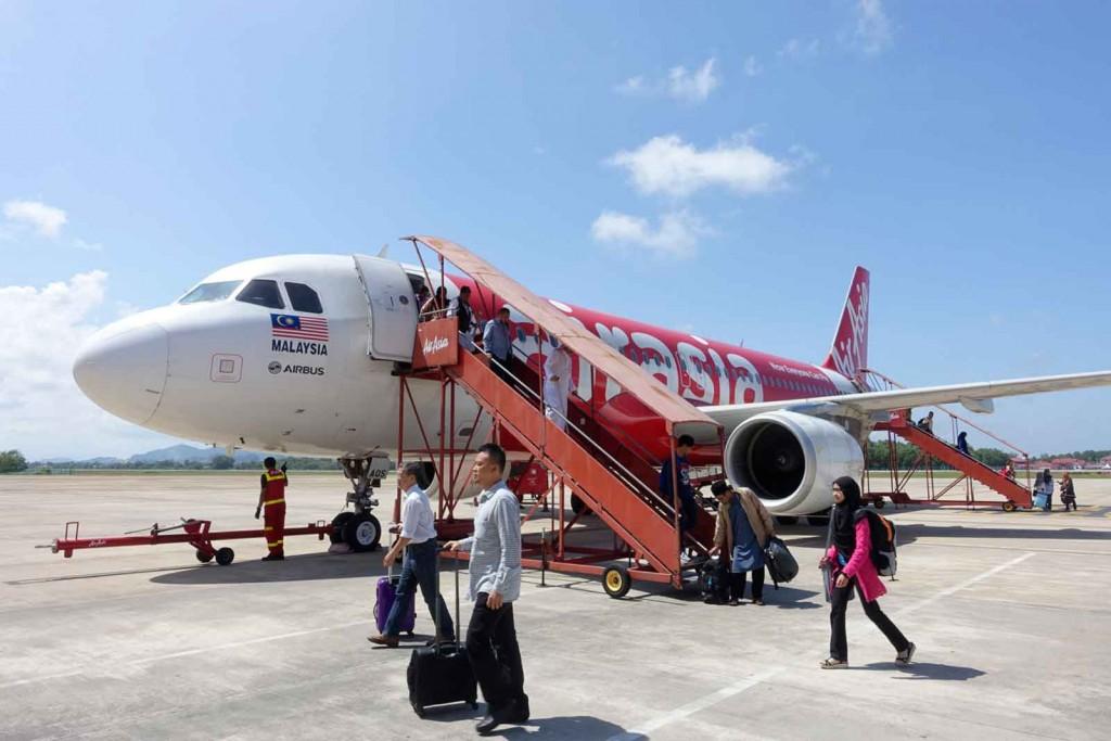 Flugzeug AirAsia