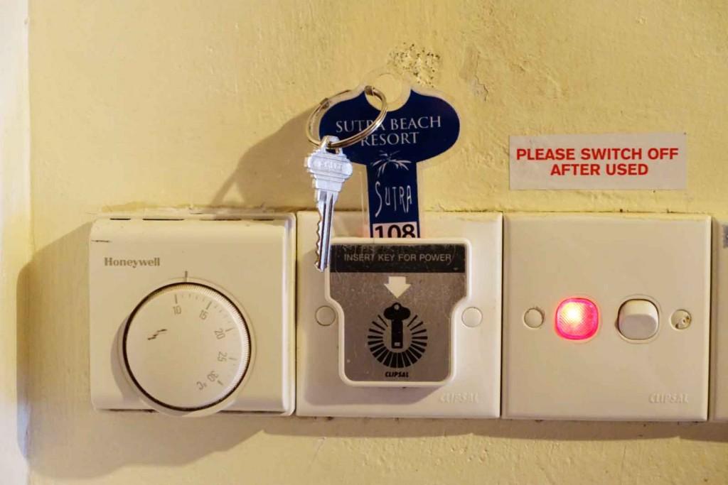 Schlüssel in der Wand