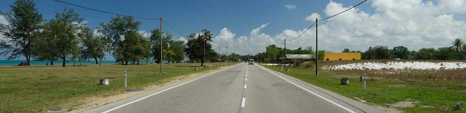 Landstraße nach Kuala Terengganu