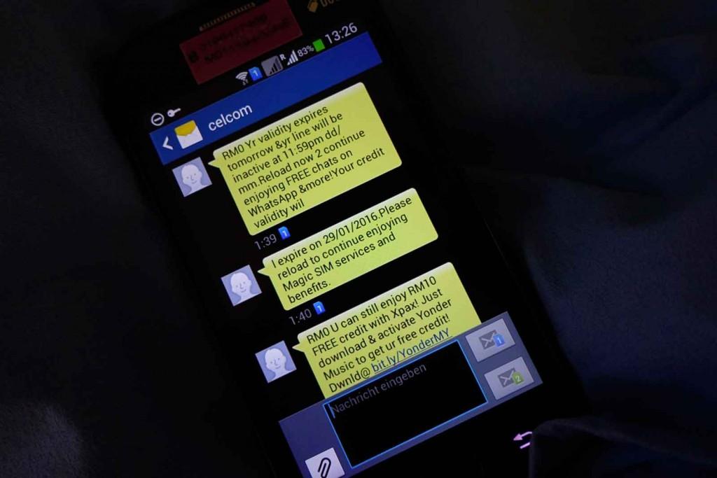 MagicSIM-SMS
