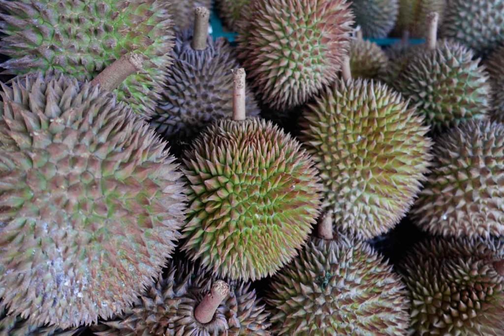 Durian Nahaufname