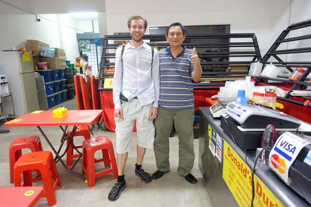 Donald Ng und ich