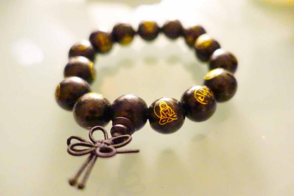 Holzperlen-Armband