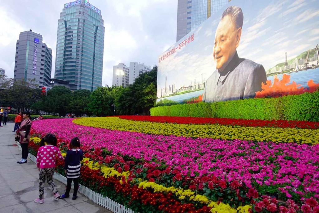 Führerverehrung in Shenzhen