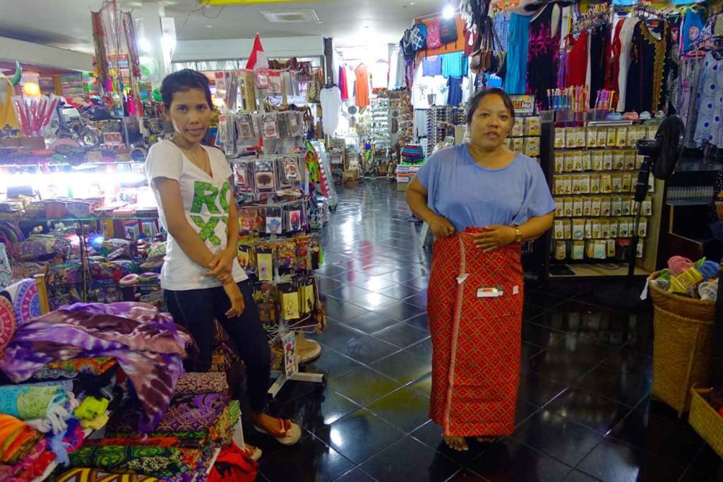 Verkaufsgespräche in Indonesien