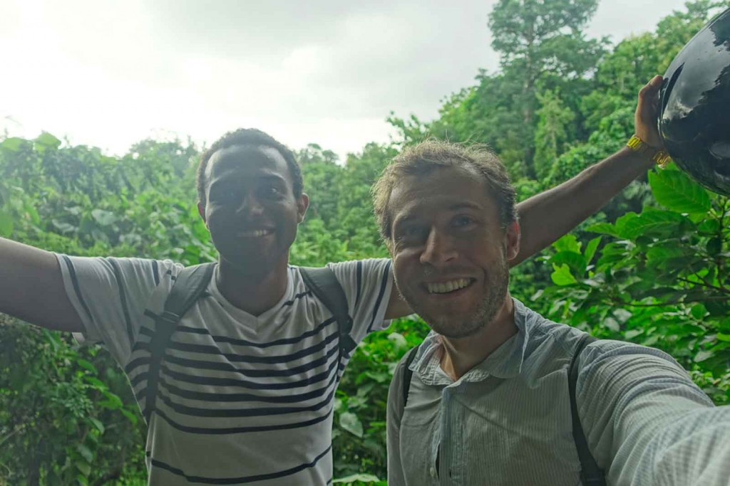 Ich mit Asser im Monkey Forrest