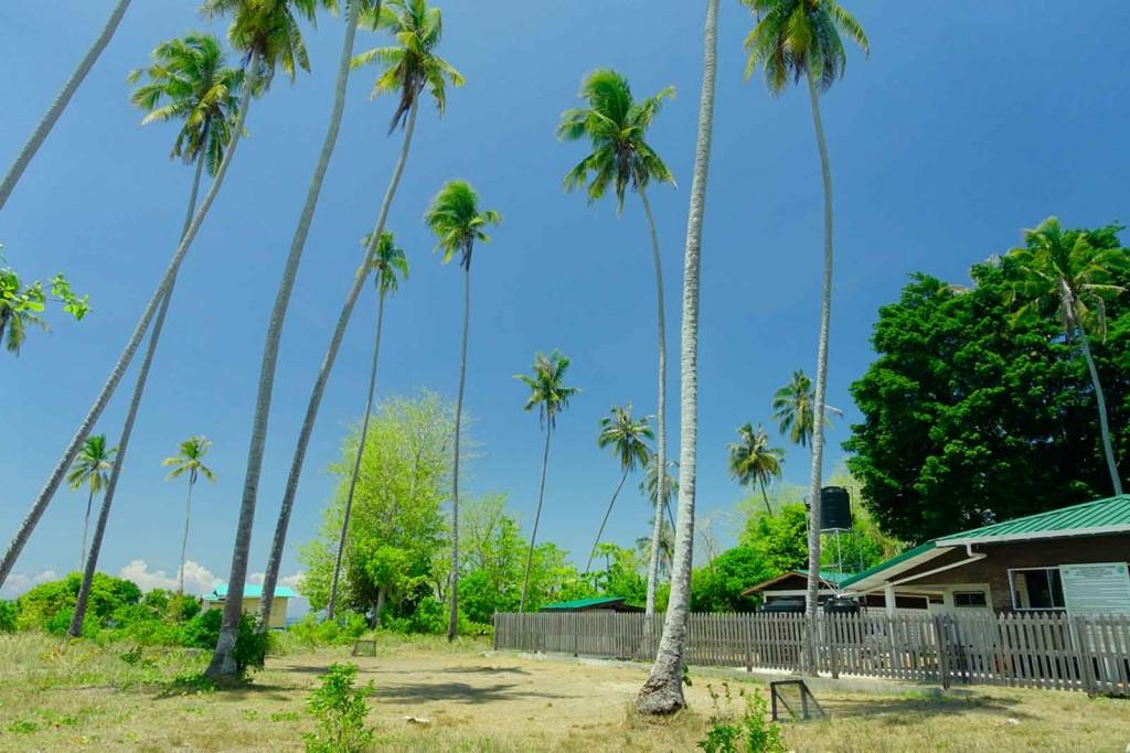 Hütte auf Sibuan
