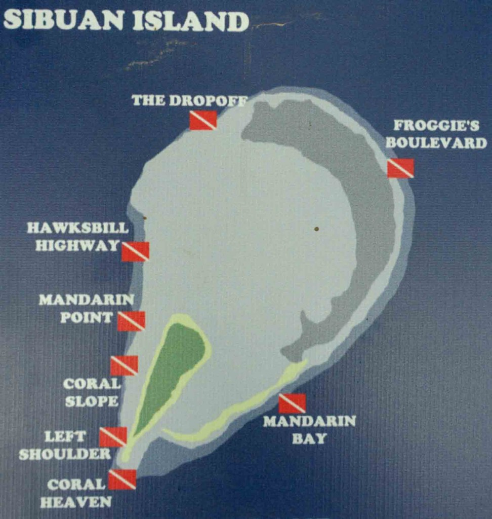 Sibuan Dive Sites