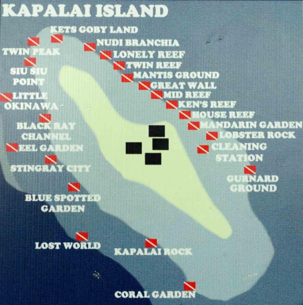 Kapalai Dive Sites