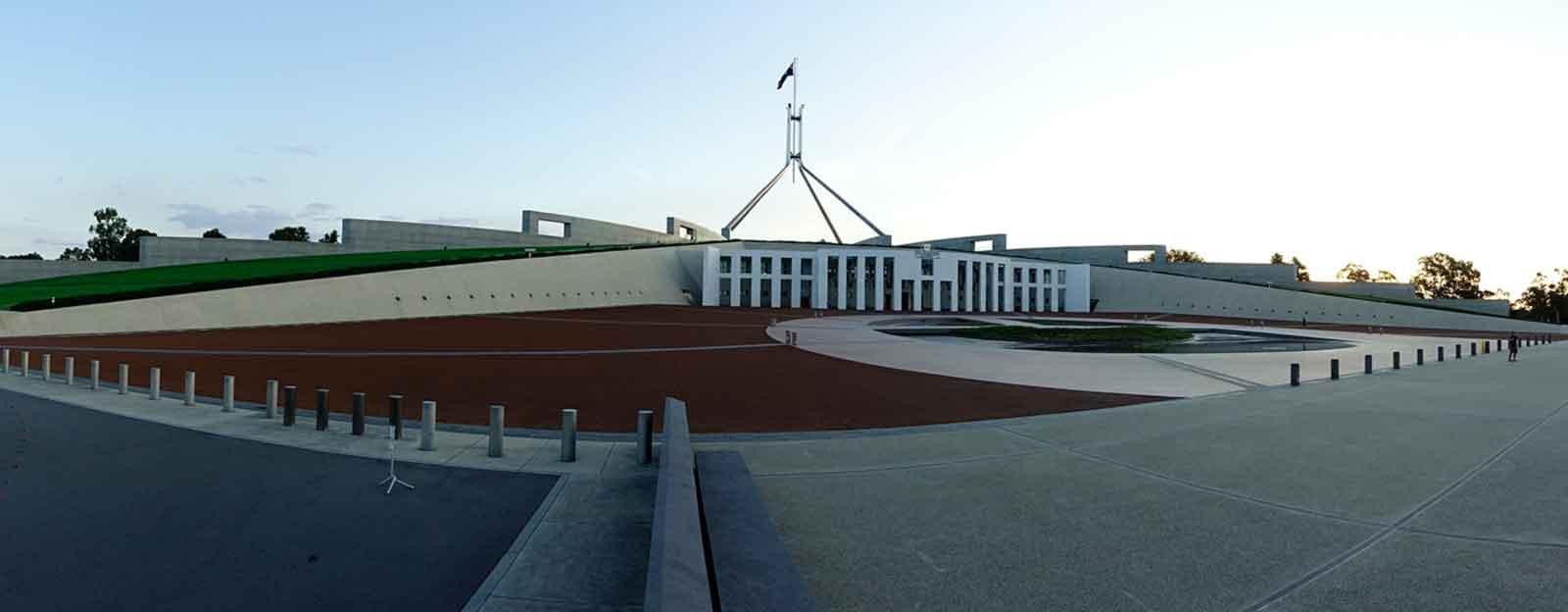 Parlament in Canberra