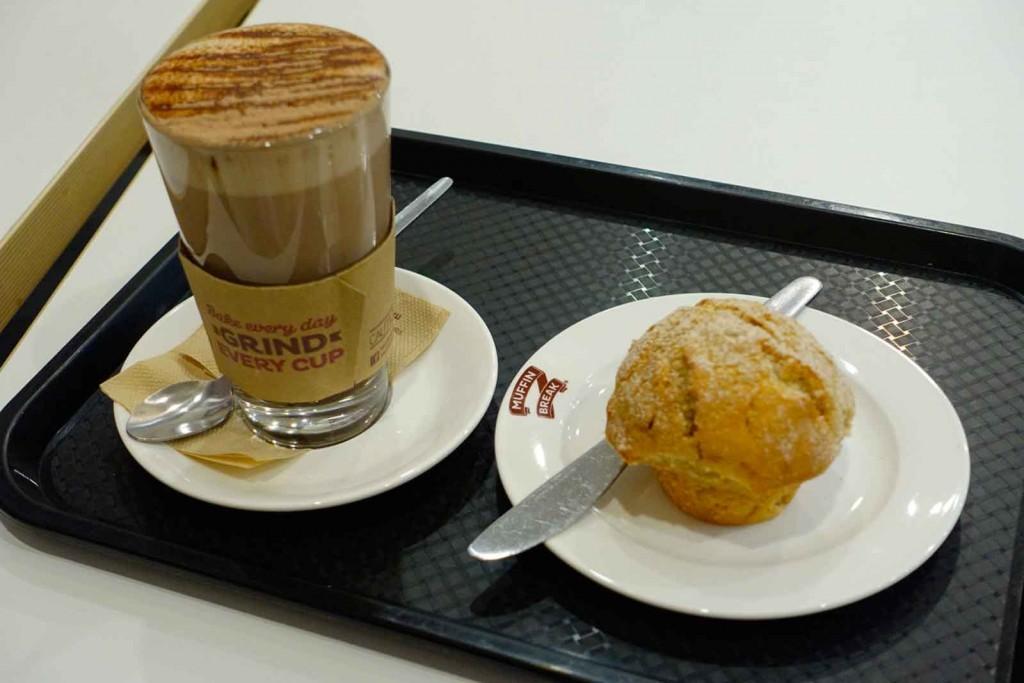 Apfel-Zimt-Muffin mit Kakao