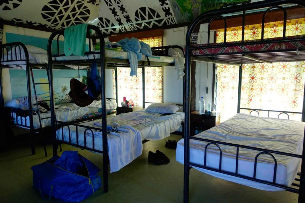 Schlafsaal im Waya Lailai Ecohaven