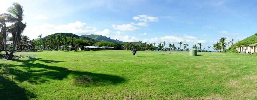Schulhof auf Waya