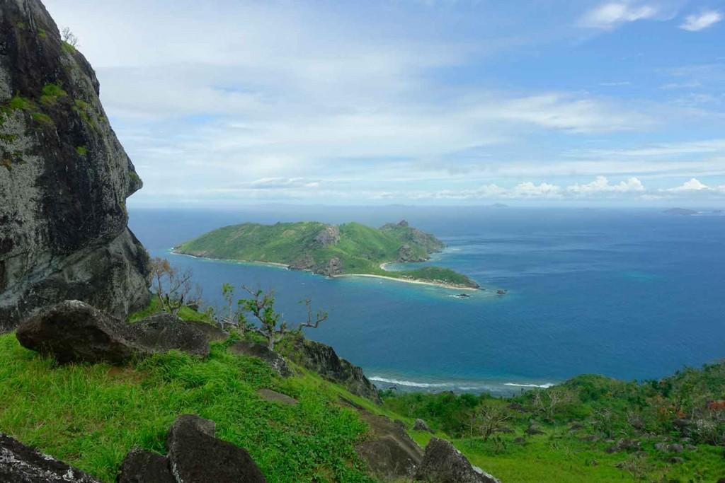 Ausblick von Waya Lailai auf Koata