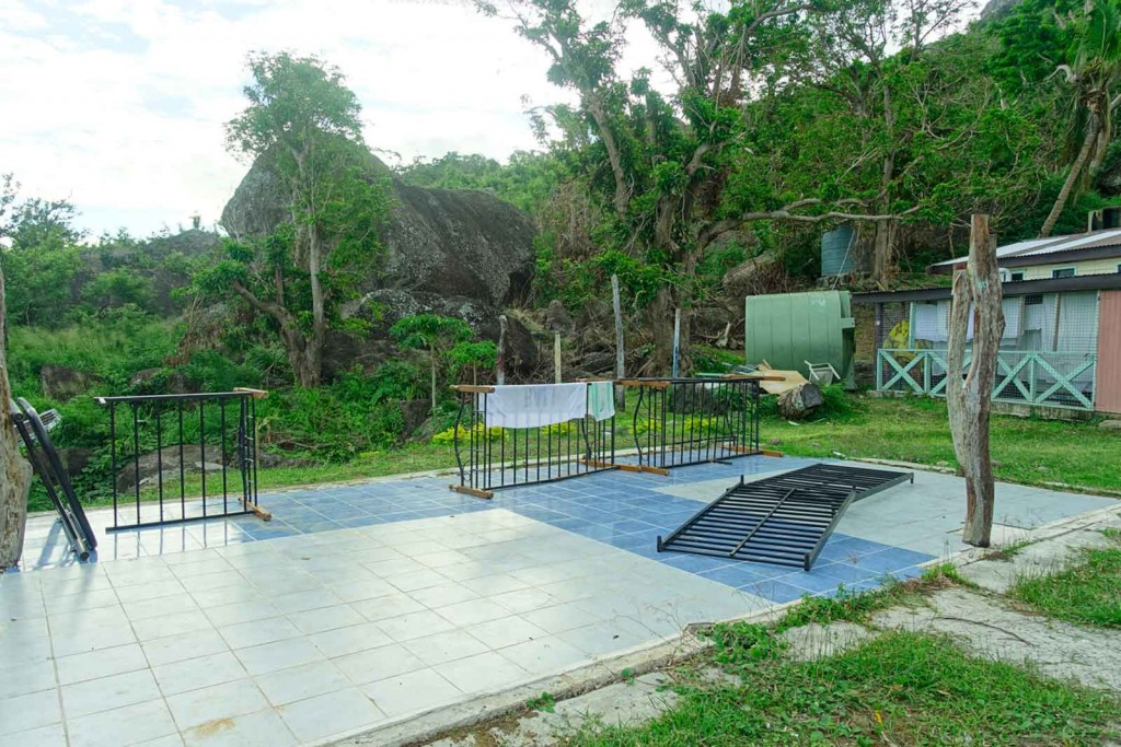 Wäscheplatz im Waya Lailai Ecohaven
