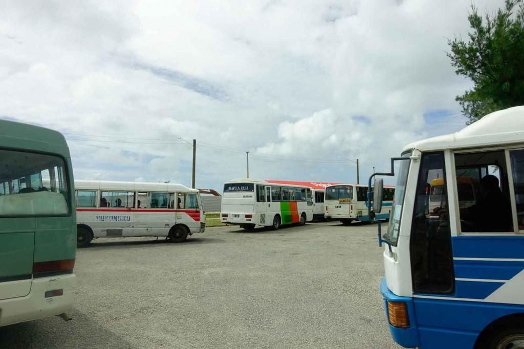 Busplatz in Nuku'alofa