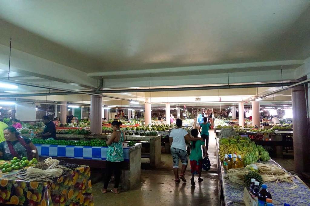 Markt auf Tonga