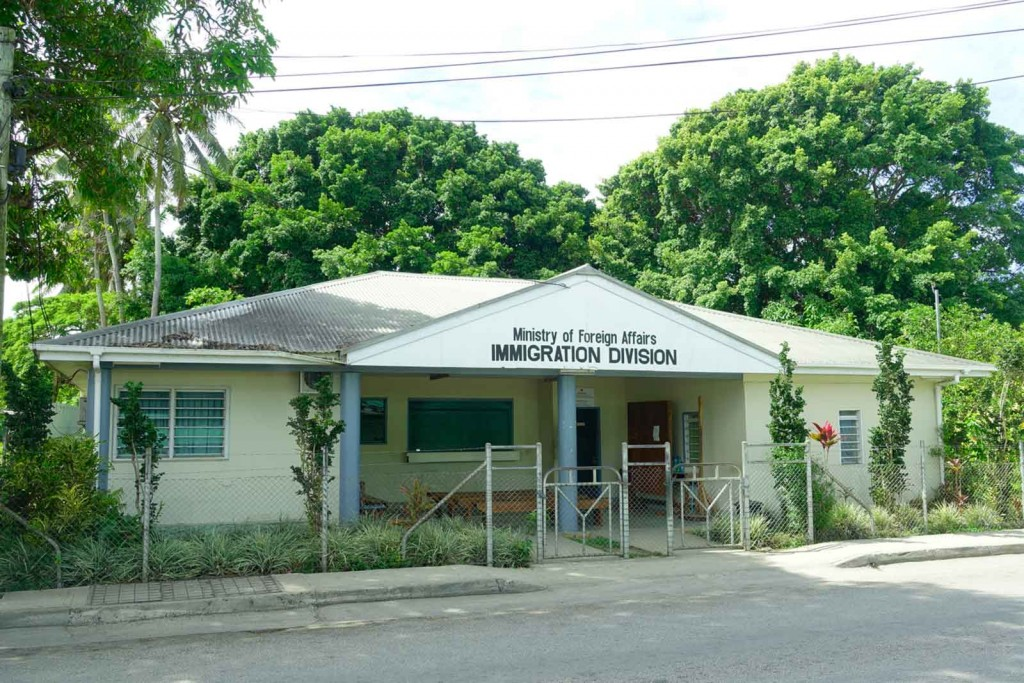 Einwanderungsbehörde von Tonga