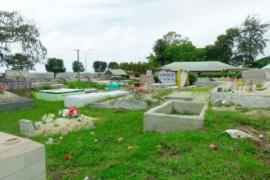 Friedhof auf Tonga
