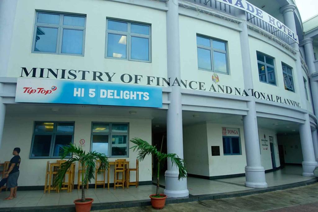 Finanzamt von Tonga