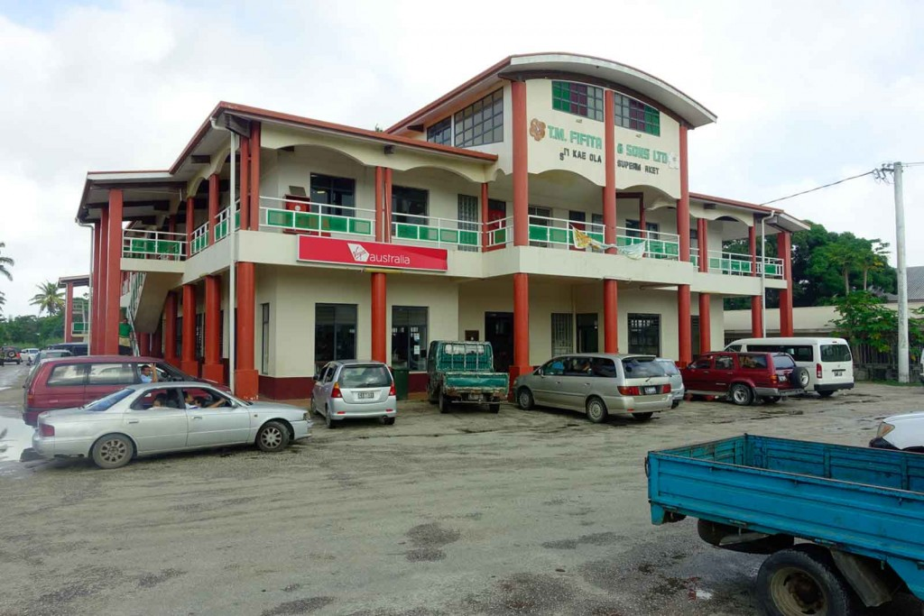 Supermarkt auf Tonga