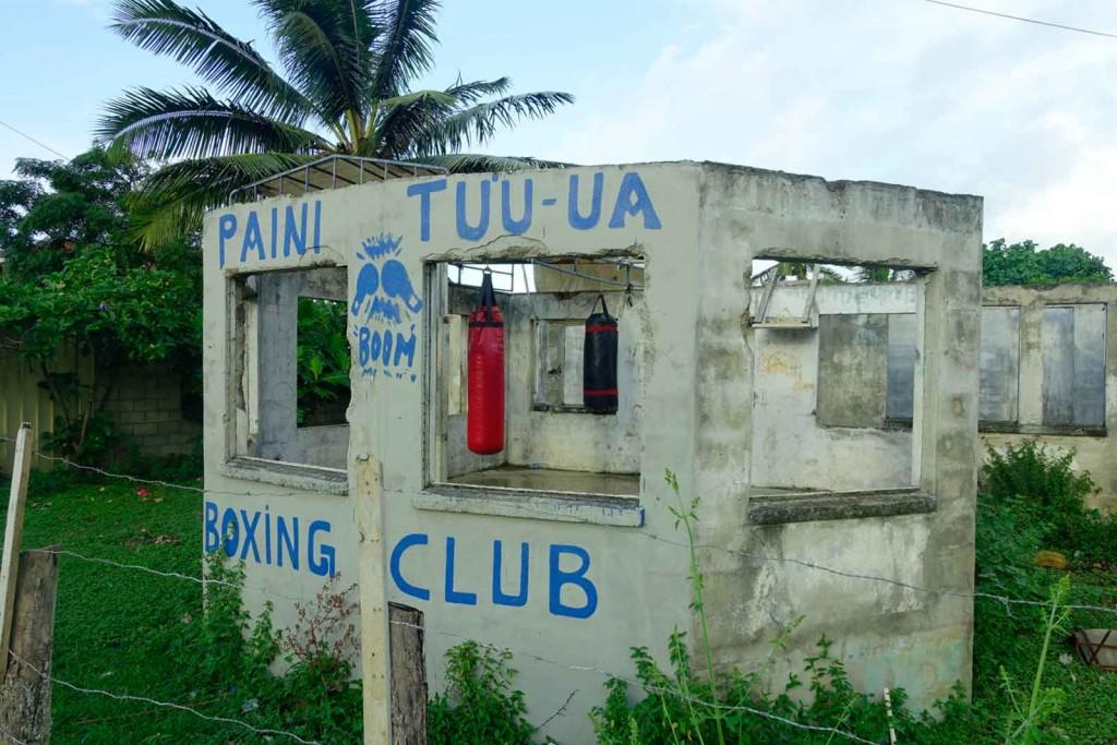 Box-Klub auf Tonga