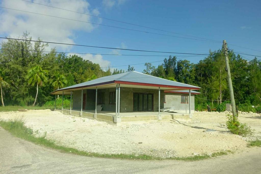 Edel-Hütte auf Tonga